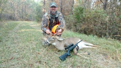 Jeff Brown with a buck